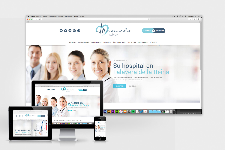 diseño-web-talavera-clinica-marazuela-love-studios
